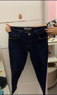 Moss Blue Jeans Wanita [Preloved]