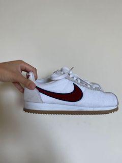 Nike Cortez PREM Suade White/Red