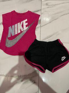 Nike set 2-3y