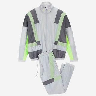 Nike x clot track jacket