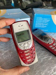 nokia 8310 red classic