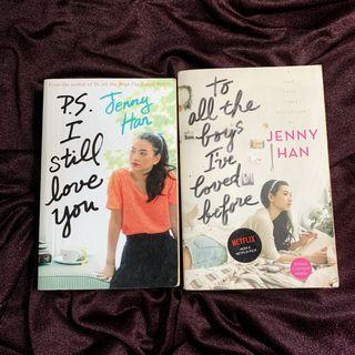 Jenny Han PS I still love you, To all the boys I've loved before
