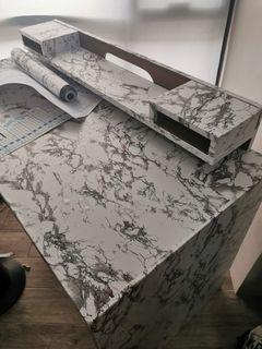 Office/WFH table with drawers