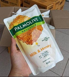 Palmolive Milk & Honey 400ml dapat 2.