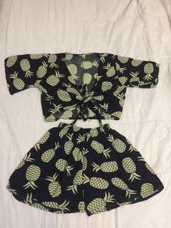 Pineapple Vibes Set