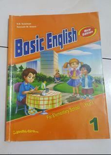 Preloved Basic English for Elementary School 1