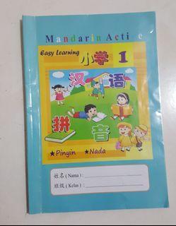 Preloved Buku Mandarin Active 1