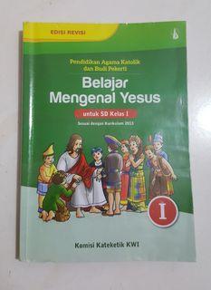 Preloved Buku Pelajaran Agama Katolik Kelas 1 SD Edisi Revisi Kurikulum 2013
