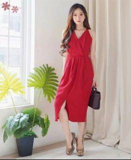 Red dress import