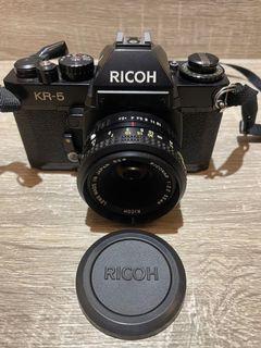 RICOH KR-5底片相機  單眼相機 早期相機 底片型照相機 底片相機 底片型相機零件機  相機