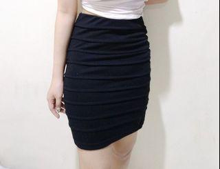 Rok span | black skirt