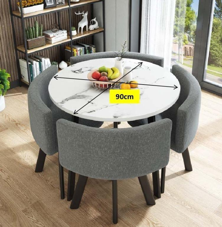 Round Dining Table Chair Set, Round Table And Chair Set