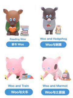 (set全圖4款) How2work bg bear blind box