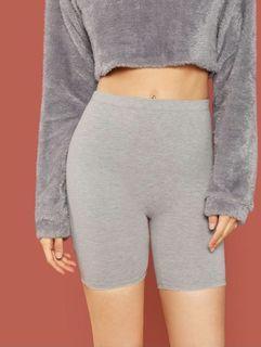 Shein Grey Biker Shorts