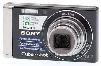 Sony DSC-W370 14.1MP Digital Camera w/Memory Card