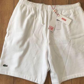 Supreme x Lacoste pique shorts 短褲