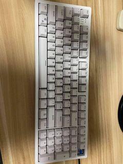 White/Black PBT Doubleshot Keycaps