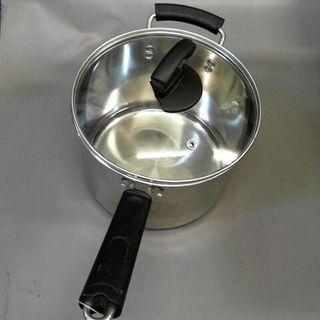 不銹鋼湯鍋含蓋/深:15*直徑20cm