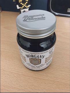 #618換個風格吧!梳油頭必備神武器!英國 Morgan's 超強力定型 水洗式髮油(白標)