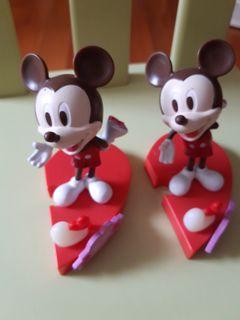 米奇老鼠擺設 兩個15元