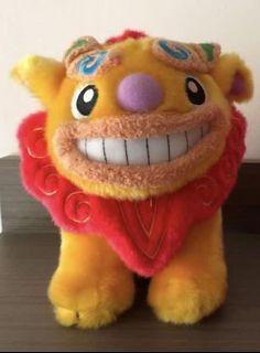 沖繩 手信 醒獅 舞獅 毛公仔 lion dance doll