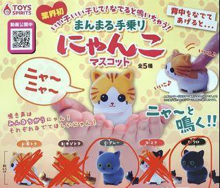 扭蛋 Toys Spirits 發聲貓 2隻