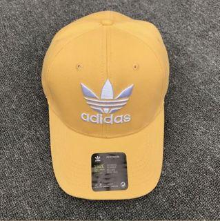 #618  Adidas 愛迪達黃色老帽