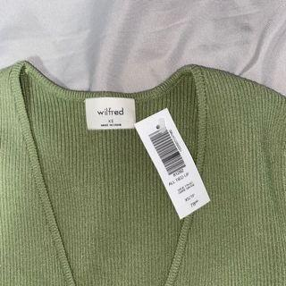 Aritzia Wilfred All tied up t-shirt