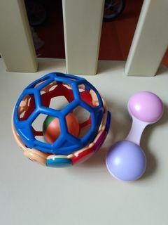 Bb玩具 兩件 30元
