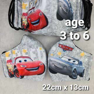 Car MCQueen Mask Age 3 to 6