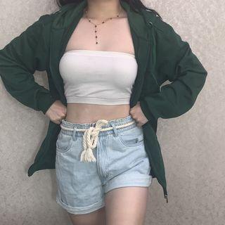 Dark Grass Green Jacket - carla hoodie dupe
