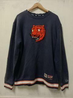 Detroit Tiger Sweatshirt Cooperstown Collection New Era (2XL size)