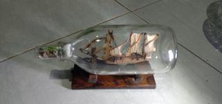Dijual Perahu Pinisi dalam botol