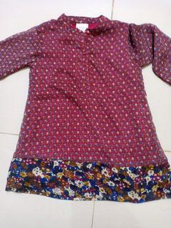 Dress/Atasan Anak 2-3 tahun