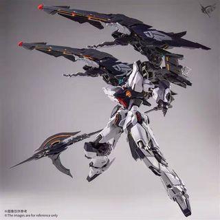 🔥Free Delivery🚚 HIRM Zero Gravity Forbidden Judge Gundam 1/100 MG Scale Metal Frame