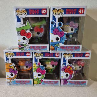 Funko Hello Kitty Kaiju and Robot Full set