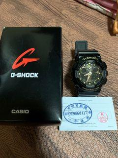 G-shock 黑迷彩