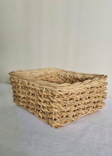 Handwoven Basket Tray