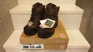 全新-Hanwag登山鞋/高筒皮革/黃金大底/Tatra II Wide GTX男款寬楦/男56棕色/UK:8號