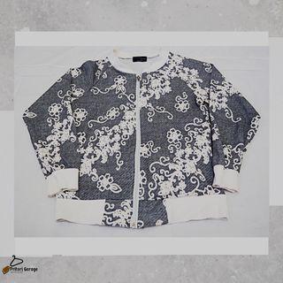 "Jaket Floral Design Full Bordir Cewek ""By Love & J Love"" Korea Second"