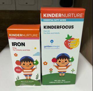 Kindernurture Iron & Kinderfocus