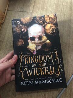 Kingdom Of The Wicked Hardcover - non ori