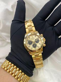 Luxury  Watches  LNIB Rolex Daytona Yellow Gold 116508
