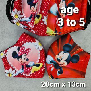 Mickey Mouse Mask Age 3 to 5