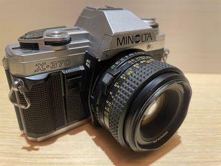 MINOLTA X-370美能達底片機  菲林相機 早期相機 底片型照相機 底片相機 底片型相機零件機  相機