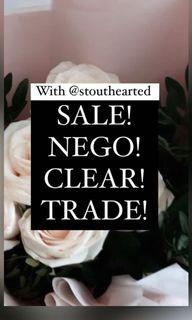 NEGO! CLEAR! TRADE! FAST DEALS FREE NM!