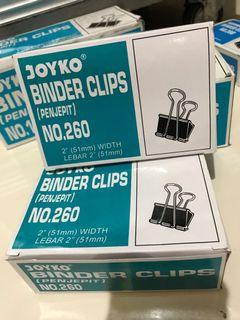 Penjepit Besar JOYKO Binder Clips No. 260