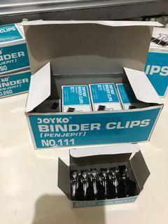 Penjepit JOYKO Binder Clips No 111 #sale