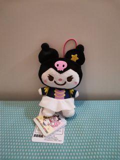 Sanrio characters 星星 管弦樂隊 kuromi 毛公仔 吊飾