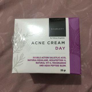 SCARLETT acne cream day